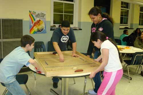 Fun and games at the 21st Century Community Learning Center
