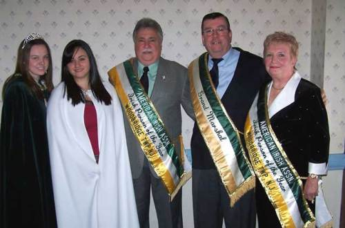 2008 Woodbridge St. Patrick's Day Honorees