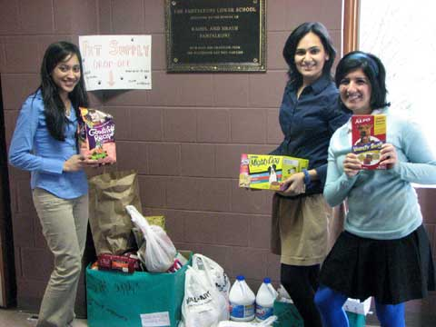 Wardlaw-Hartridge students have been collecting pet supplies to benefit animal shelters.