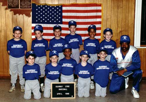 1990 Rahway CYRC Rahway News Record baseball team