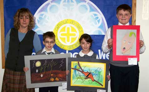 St. John the Apostle  School students will exhibit their art at IKEA, Elizabeth