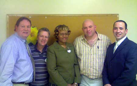 Rahway school board candidates attended a forum sponsored by the Rahway NAACP last month.