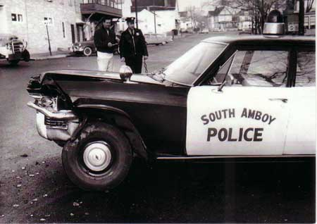 Old South Amboy Police Car