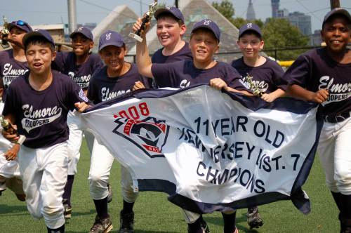 The Elmora Troopers won their first Little League District Championship title in team history.
