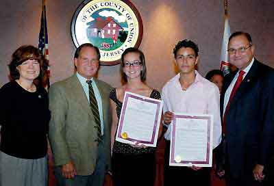 Freeholders Honor Lifeguard Heroes